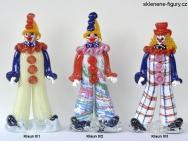 Figurky klaunů