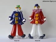 Sklenění klauni